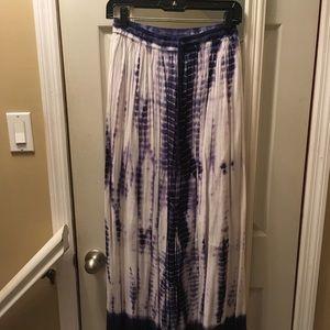Dresses & Skirts - Blue/purple tie dye maxi skirt